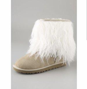 UGG Sheepskin Cuff Boots