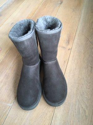 UGG Borceguíes gris oscuro-gris