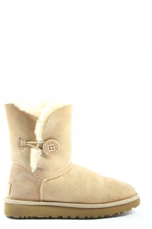 UGG Stivaletto buskin bianco sporco stile casual