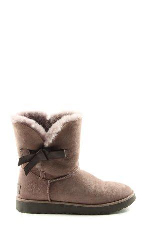 UGG Ocieplane botki brązowy W stylu casual