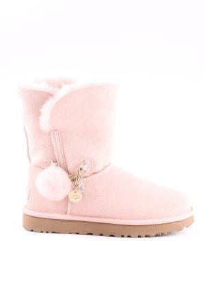 UGG Sneeuwlaarzen roze casual uitstraling