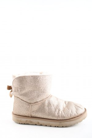 UGG Snowboots goldfarben Casual-Look