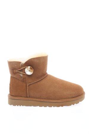 "UGG Snowboots ""Mini Bailey Button Bling Boot"" braun"