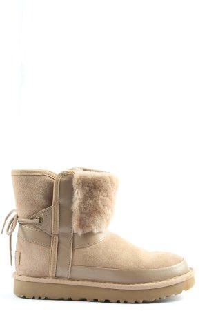 UGG Bottes de neige crème style décontracté