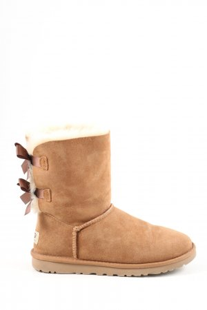 "UGG Stivale da neve ""W Bailey Bow ll"" color carne"
