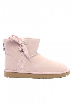 "UGG Snowboots ""Classic Lace Mini"" pink"