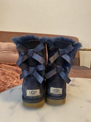 UGG Australia Botas de nieve azul-azul neón
