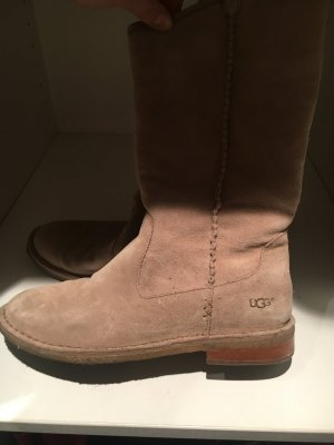UGG Snow Boots camel suede