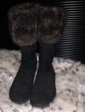 UGG Stiefel mit Fell Bund Größe 39