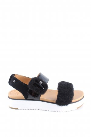 UGG Beach Sandals black casual look