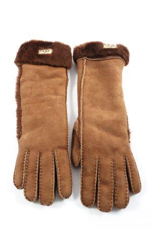 UGG Gebreide handschoenen bruin casual uitstraling