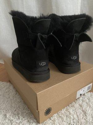 UGG Australia Bottes fourrées noir