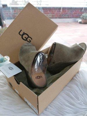 UGG Wedges Leder Sandaletten