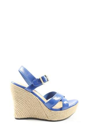 UGG Wedges Sandaletten blau Casual-Look
