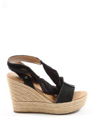 UGG Wedges Sandaletten schwarz Casual-Look