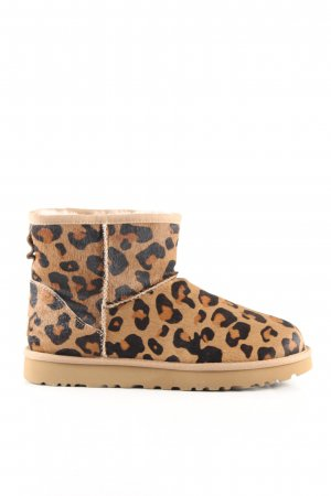 UGG Winter-Stiefeletten Animalmuster Casual-Look