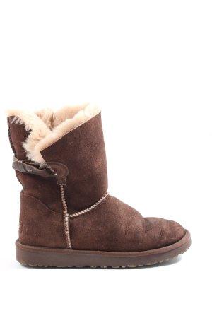 UGG Winter-Stiefeletten braun Casual-Look