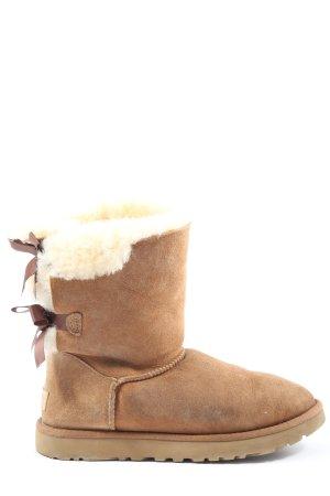 UGG Winter-Stiefeletten hellorange Casual-Look