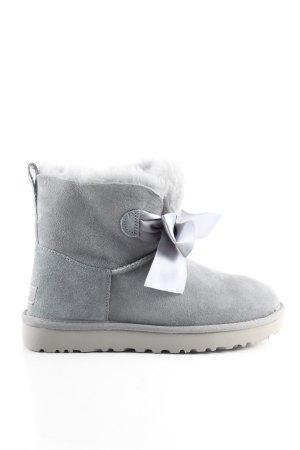 UGG Bottine d'hiver gris clair style décontracté