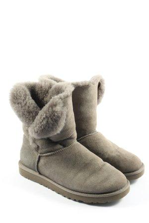 UGG Winter-Stiefeletten hellgrau Casual-Look