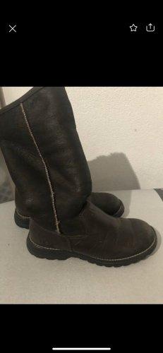 UGG Botas de invierno marrón oscuro