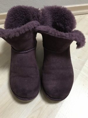 UGG Australia Fur Boots multicolored