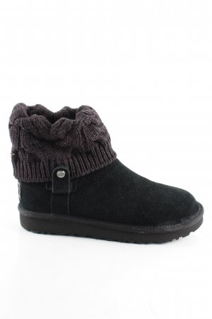 UGG Winter Boots black business style