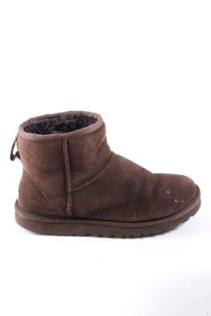 UGG Bottes d'hiver brun style décontracté