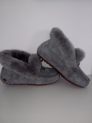 Fur Boots grey