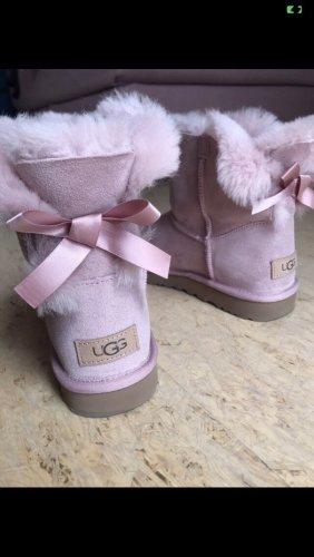 UGG Winterlaarzen stoffig roze