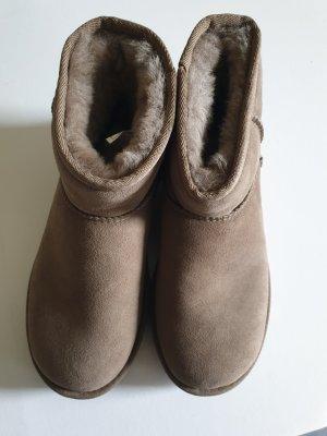 UGG Botines marrón grisáceo