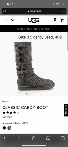 UGGS classic cardy boot