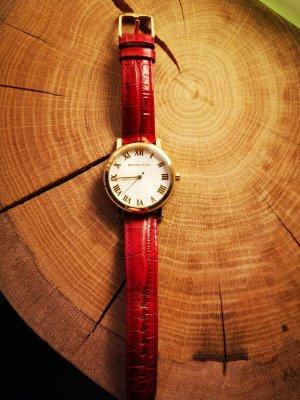 Michael Kors Horloge met lederen riempje veelkleurig