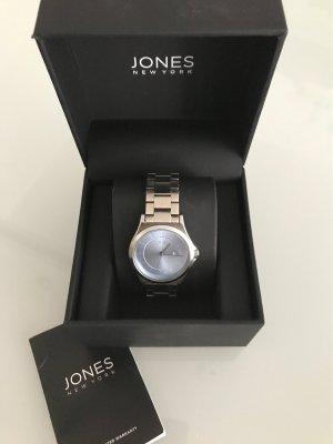 Adam Jones Zegarek analogowy srebrny-błękitny