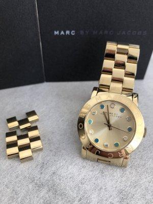 Marc Jacobs Horloge met metalen riempje goud