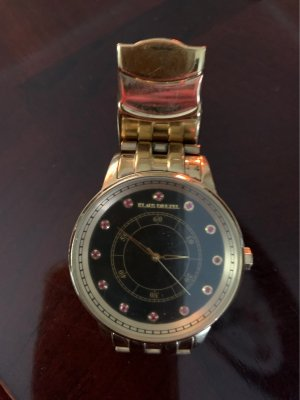 Klaus Modelle Watch With Metal Strap gold-colored