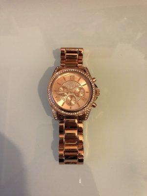 BODY FLIRT Zegarek automatyczny w kolorze różowego złota