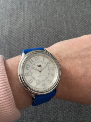Tommy Hilfiger Analog Watch silver-colored-blue
