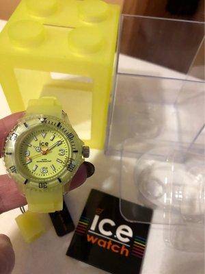 Ice watch Reloj automático amarillo pálido Material sintético