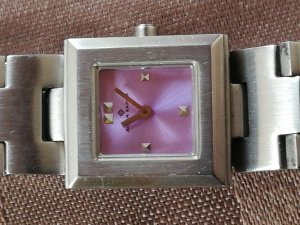 Alpha Saphir Watch With Metal Strap silver-colored-rose-gold-coloured