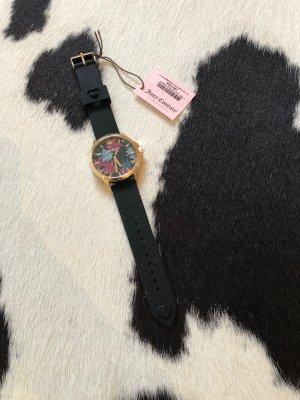 Uhr Armbanduhr schwarz Gold bunt Mode Fashion Blogger accesoires