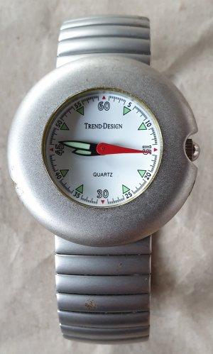 Reloj con pulsera metálica multicolor metal