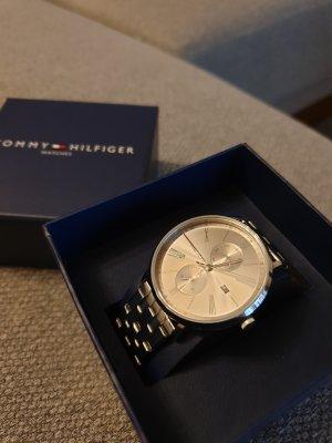 Tommy Hilfiger Reloj con pulsera metálica color plata metal