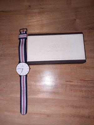 Daniel Wellington Reloj con pulsera metálica blanco