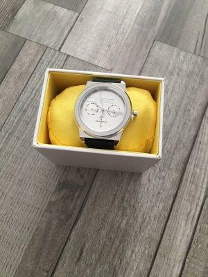 Esprit Horloge met lederen riempje veelkleurig