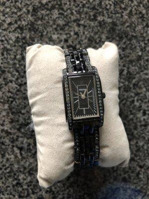 Fossil Montre avec bracelet métallique noir-argenté