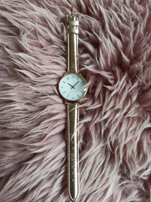 lbvyr Zegarek automatyczny w kolorze różowego złota