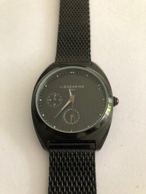 Liebeskind Berlin Zegarek analogowy czarny Metal