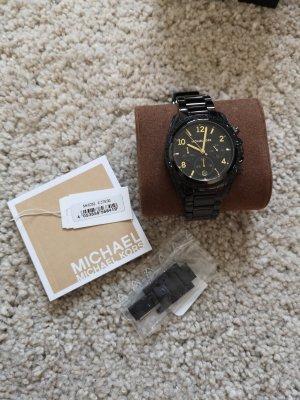 Uhr Michael Kors schwarz/gold
