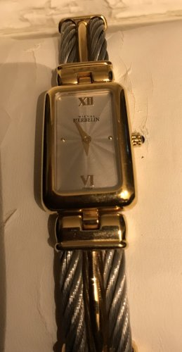 Michel Herbelin Reloj con pulsera metálica color plata-color oro